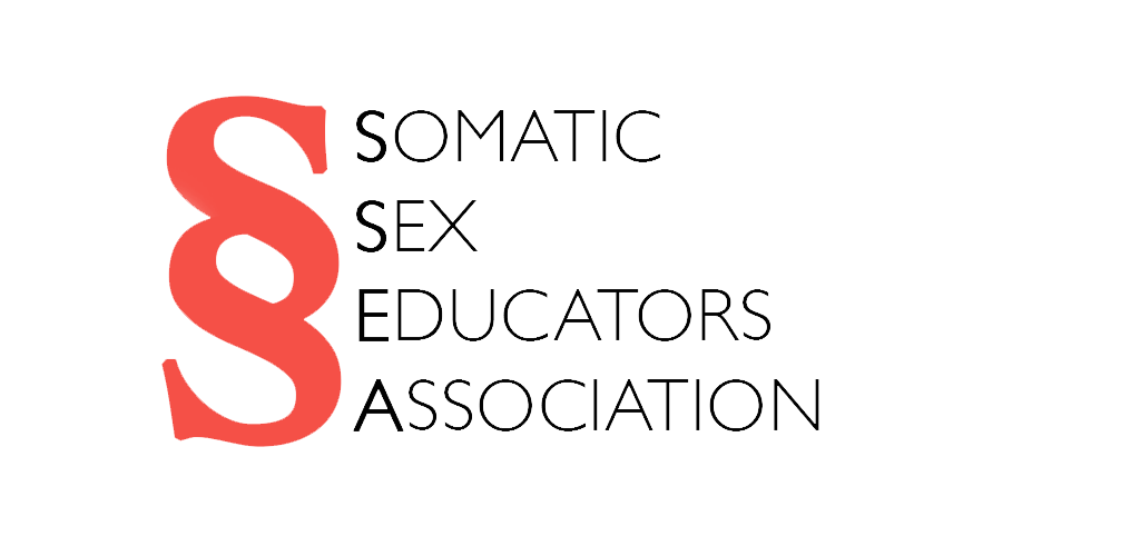 Somatic Sex Educators Association Red Logo png